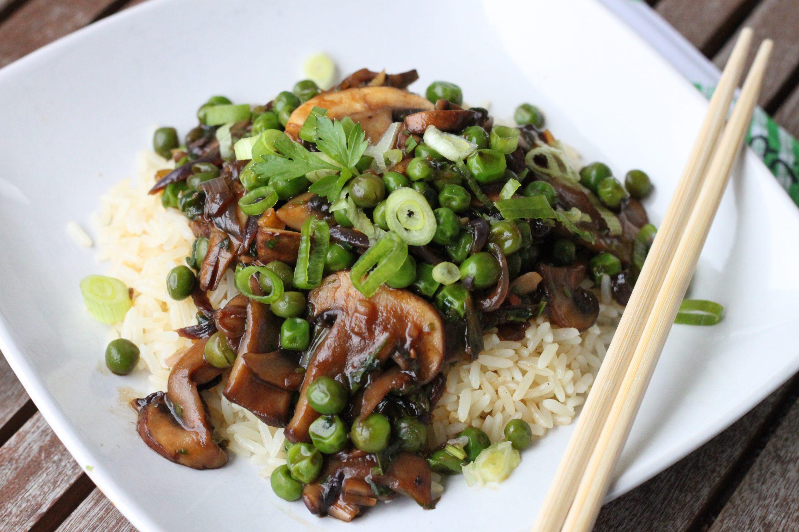 Takeaway Teriyaki Mushrooms