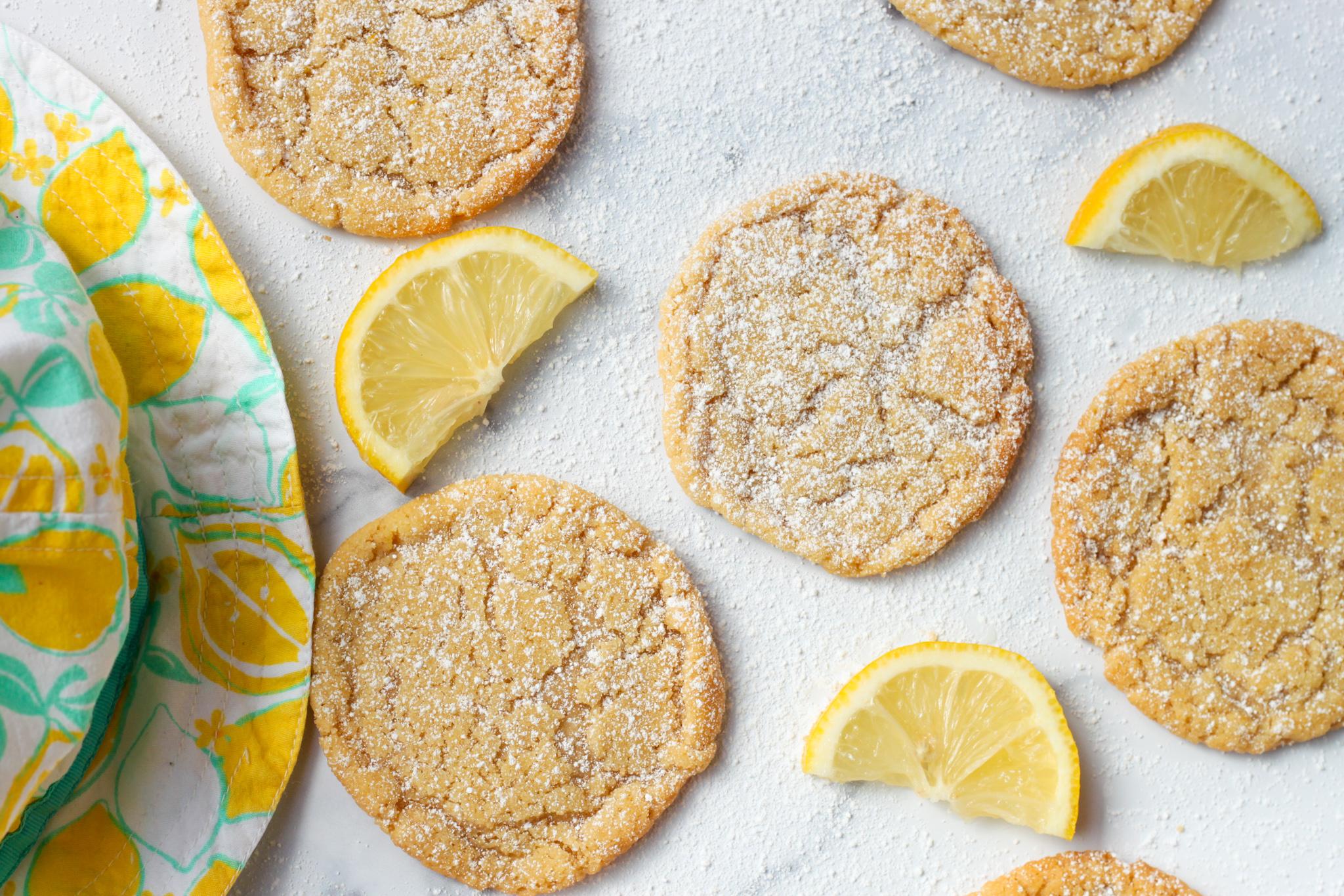 My Lemon sugar cookies inspired by Lemons + Zest