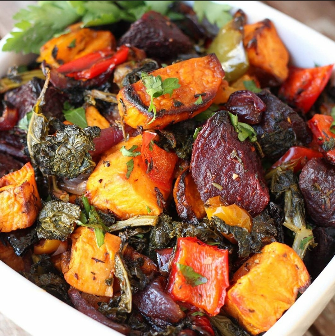 Kale and roasted veg salad: A must try