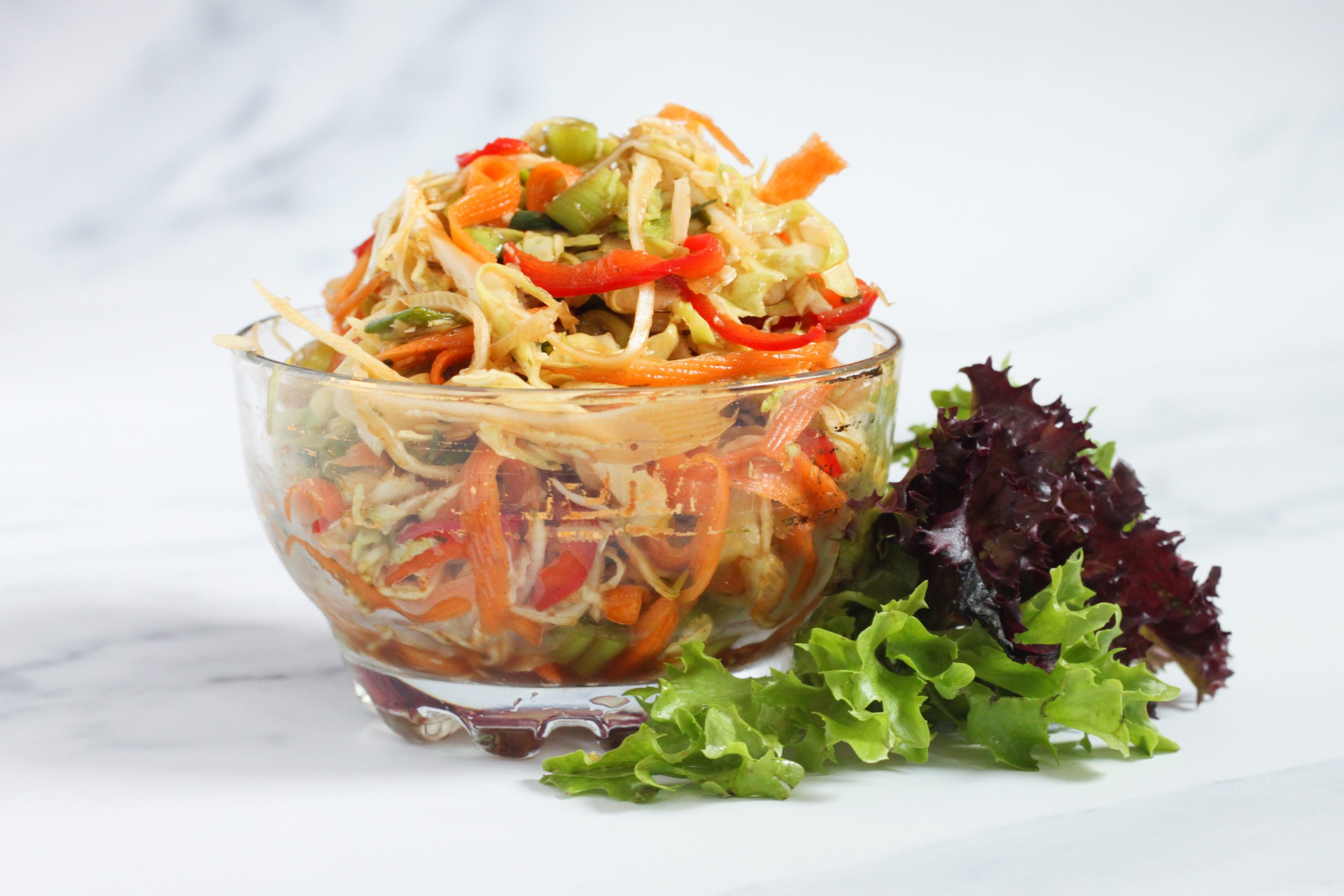 Asian inspired slaw