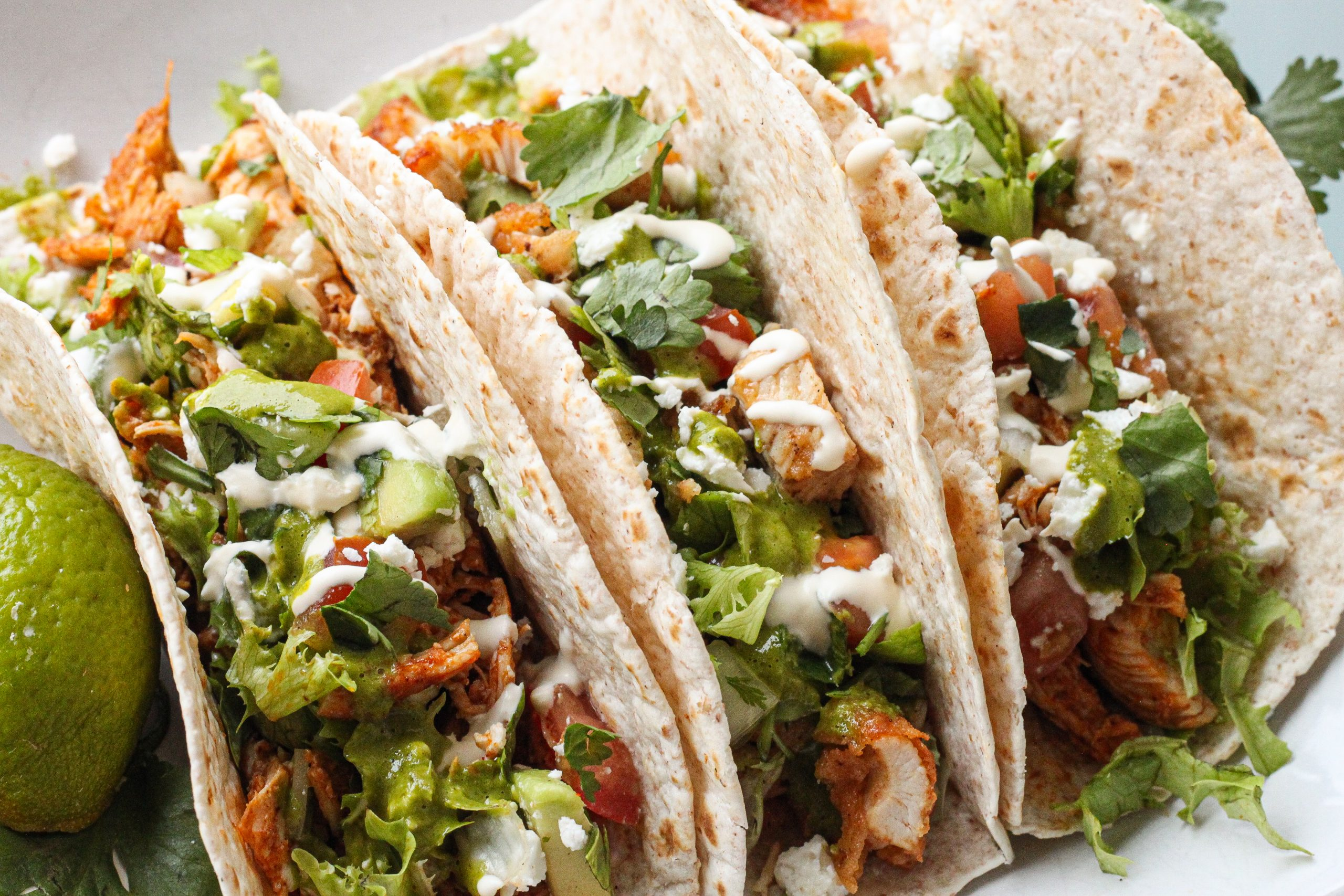 Awesome Chicken tacos: Taco Tuesday