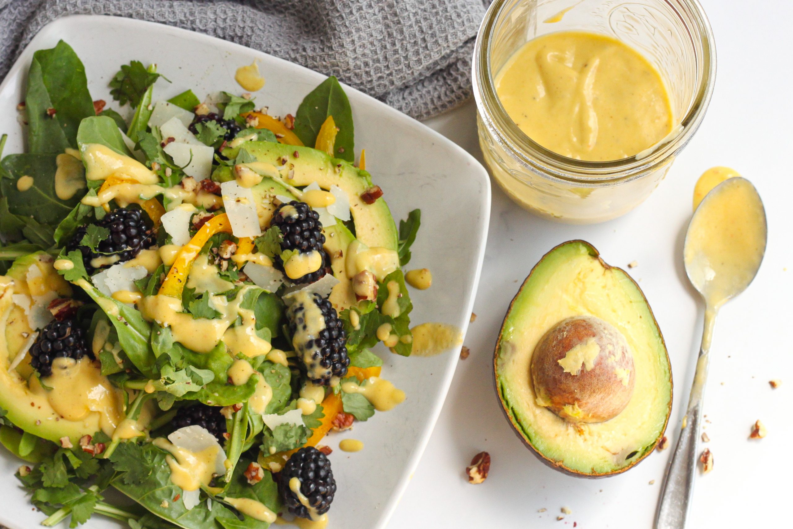 Spicy Mango Lime Dressing