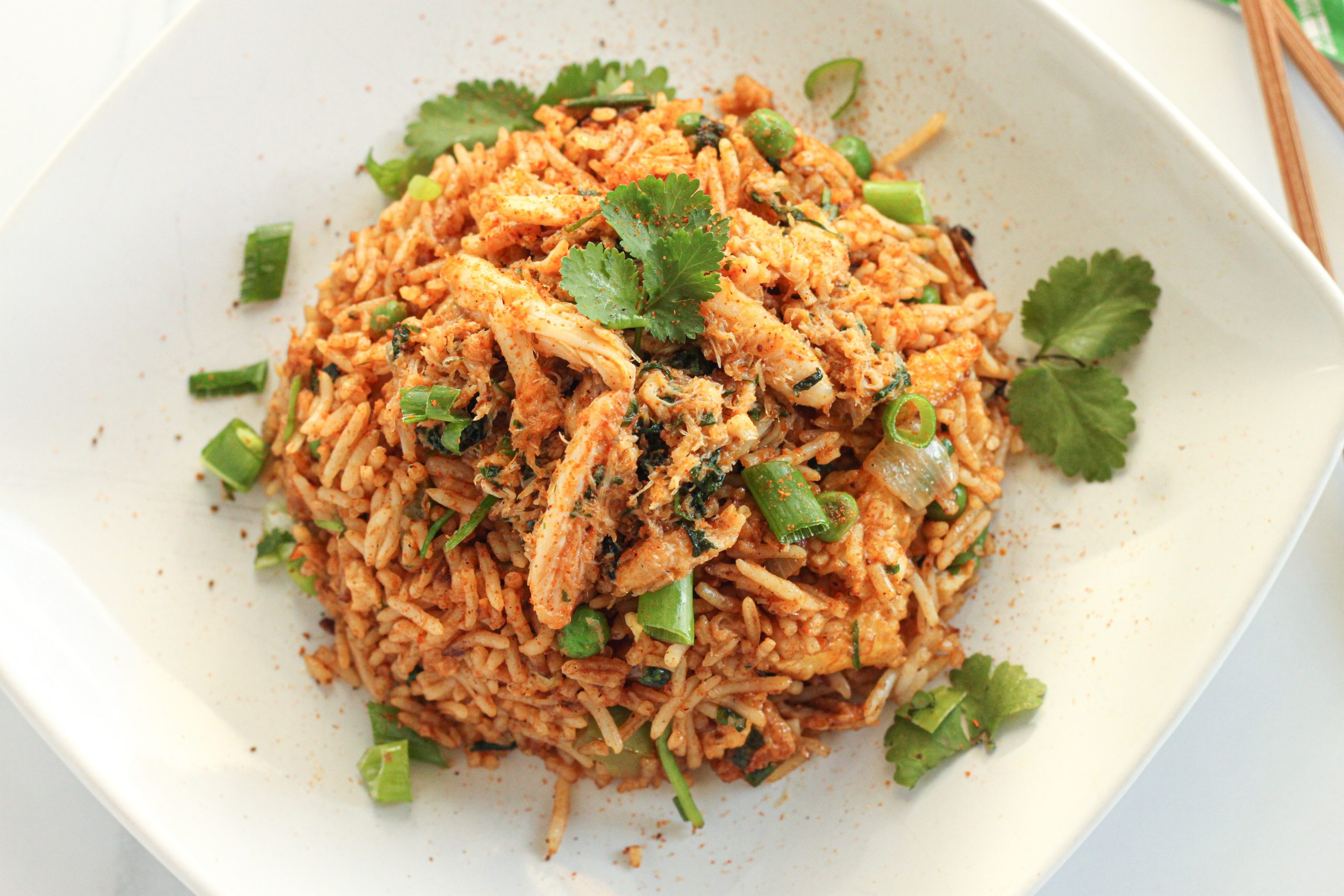 The Best Crab Fried Rice on a budget
