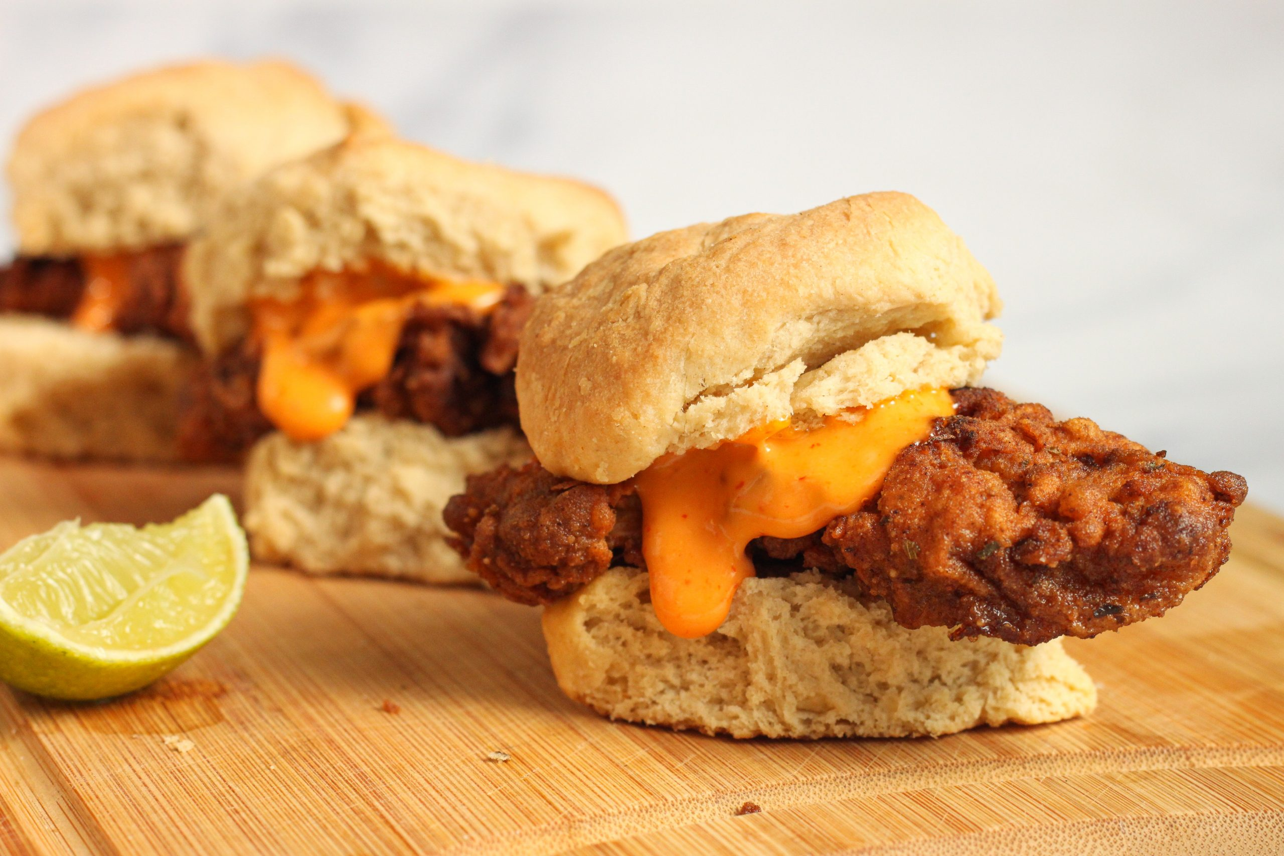 Fried Chicken n' Biscuit Sliders: Make Your left overs an Even Better Brunch