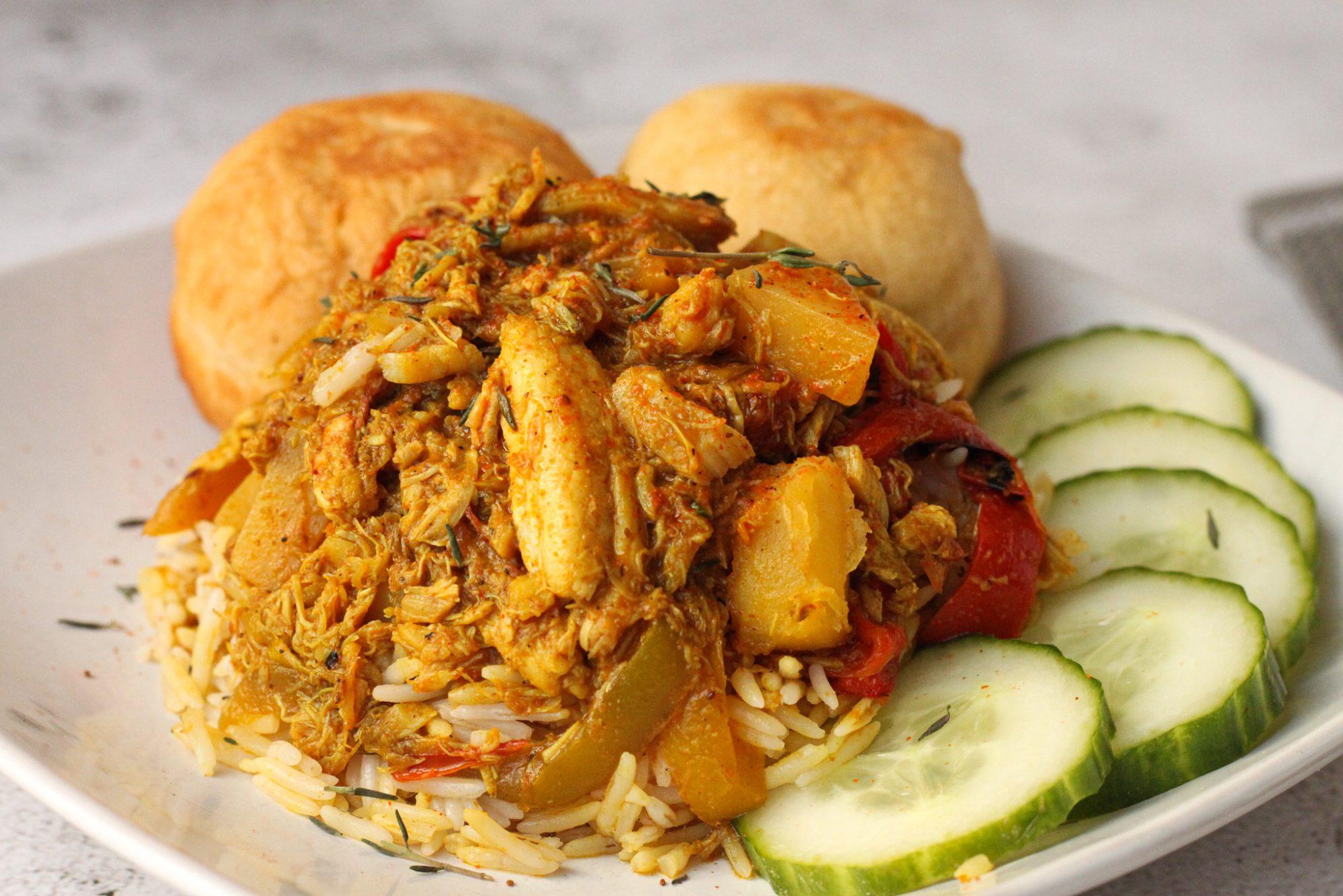 curry crab runon