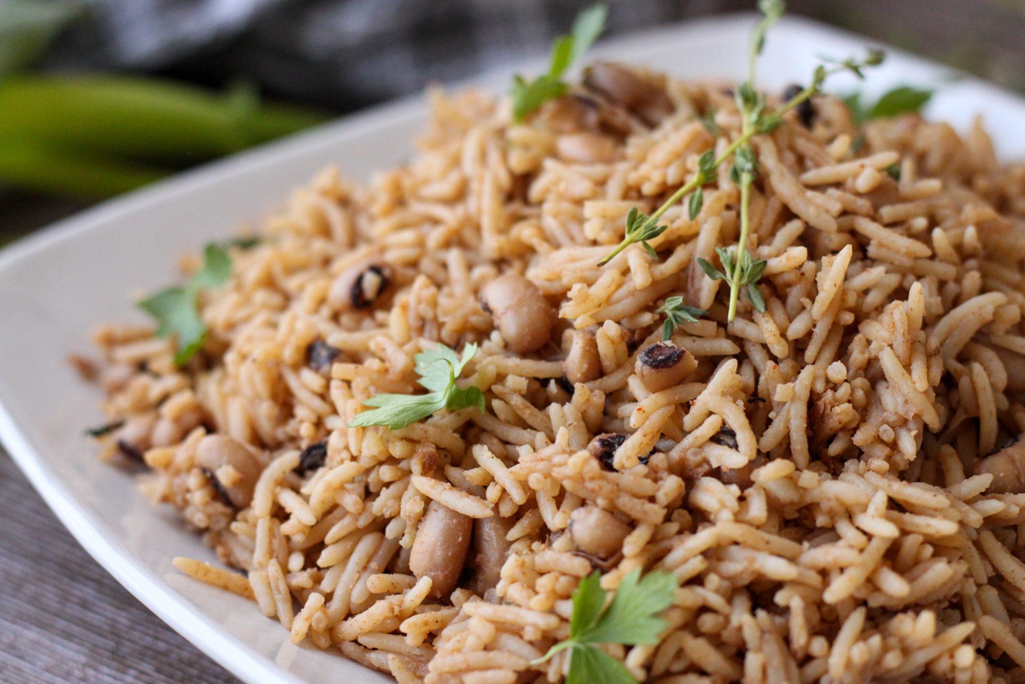 Bermuda Peas N' Rice