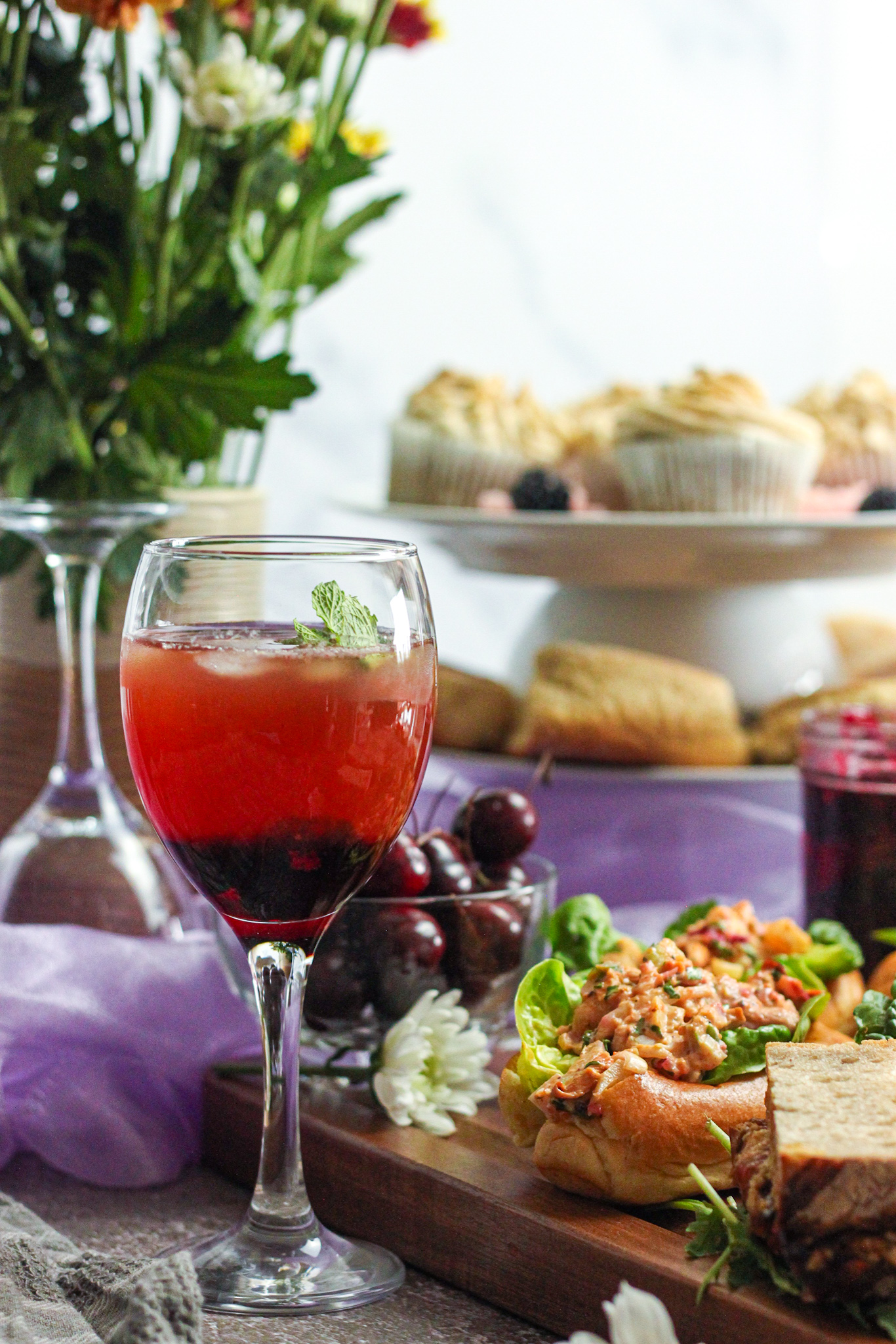 The Best Iced Tea for Fall: Blackberry, Sage & Mint