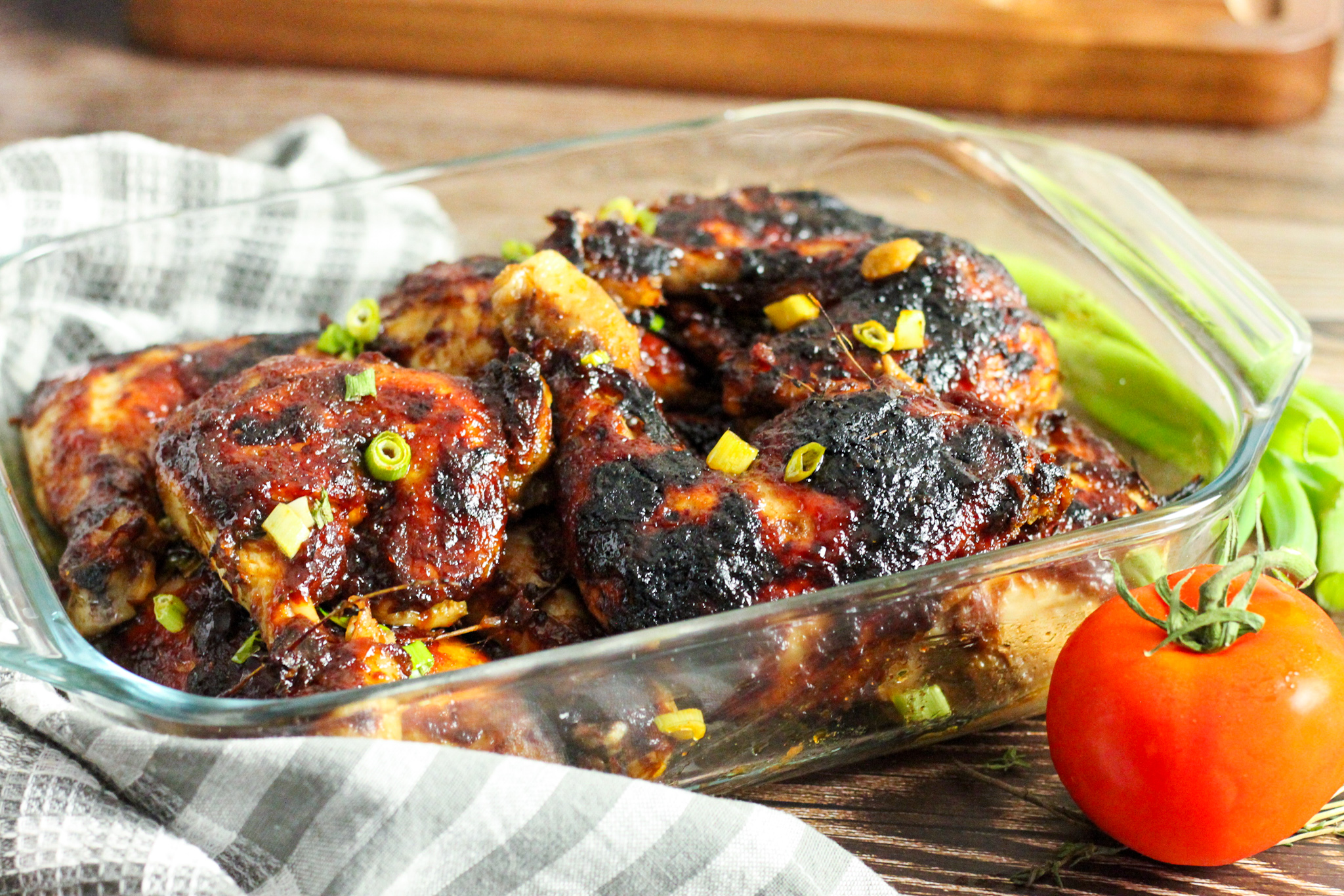 You don't need a grill to make Jerk BBQ Chicken