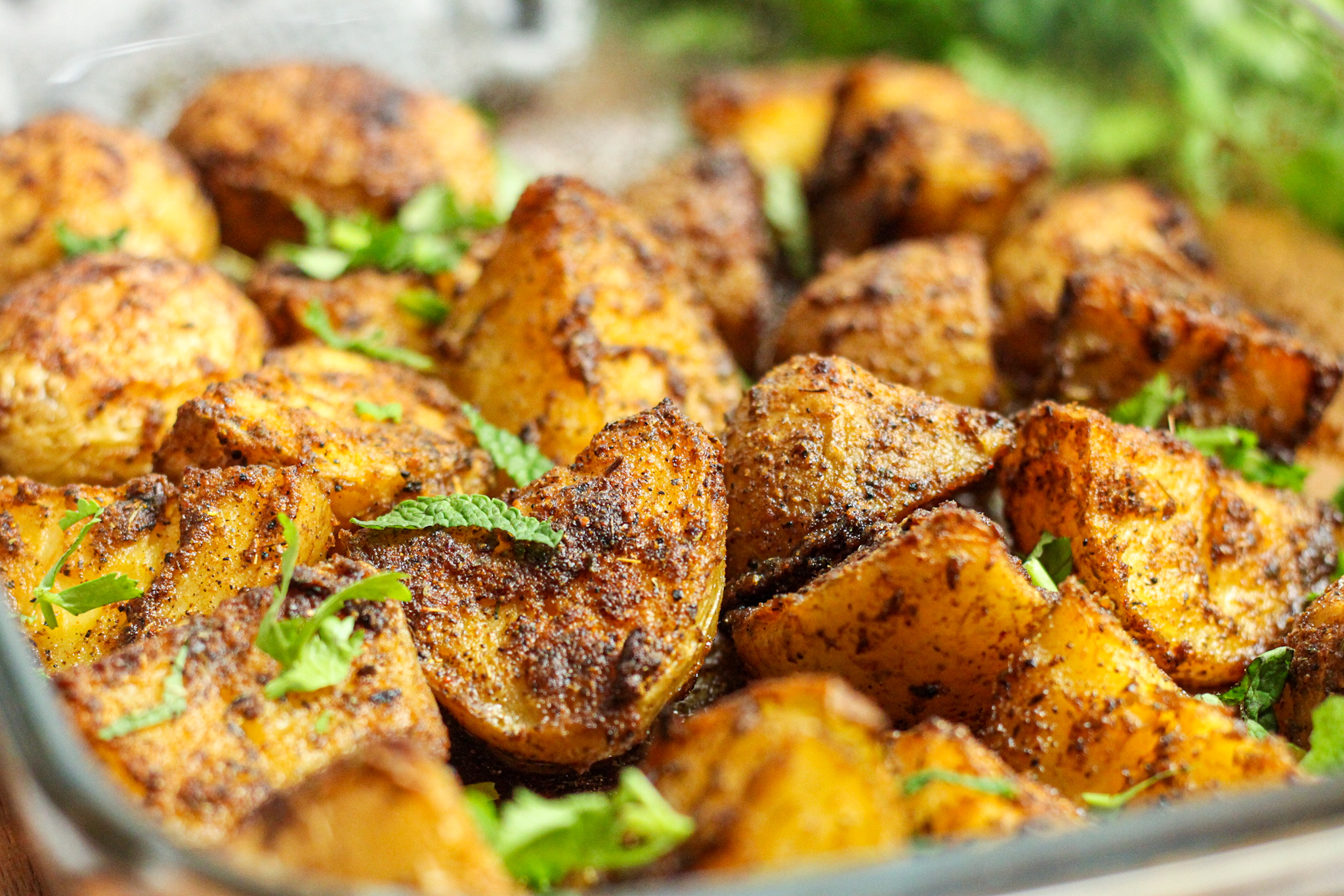 Quick and Simple Curry Roasted Potatoes you will love