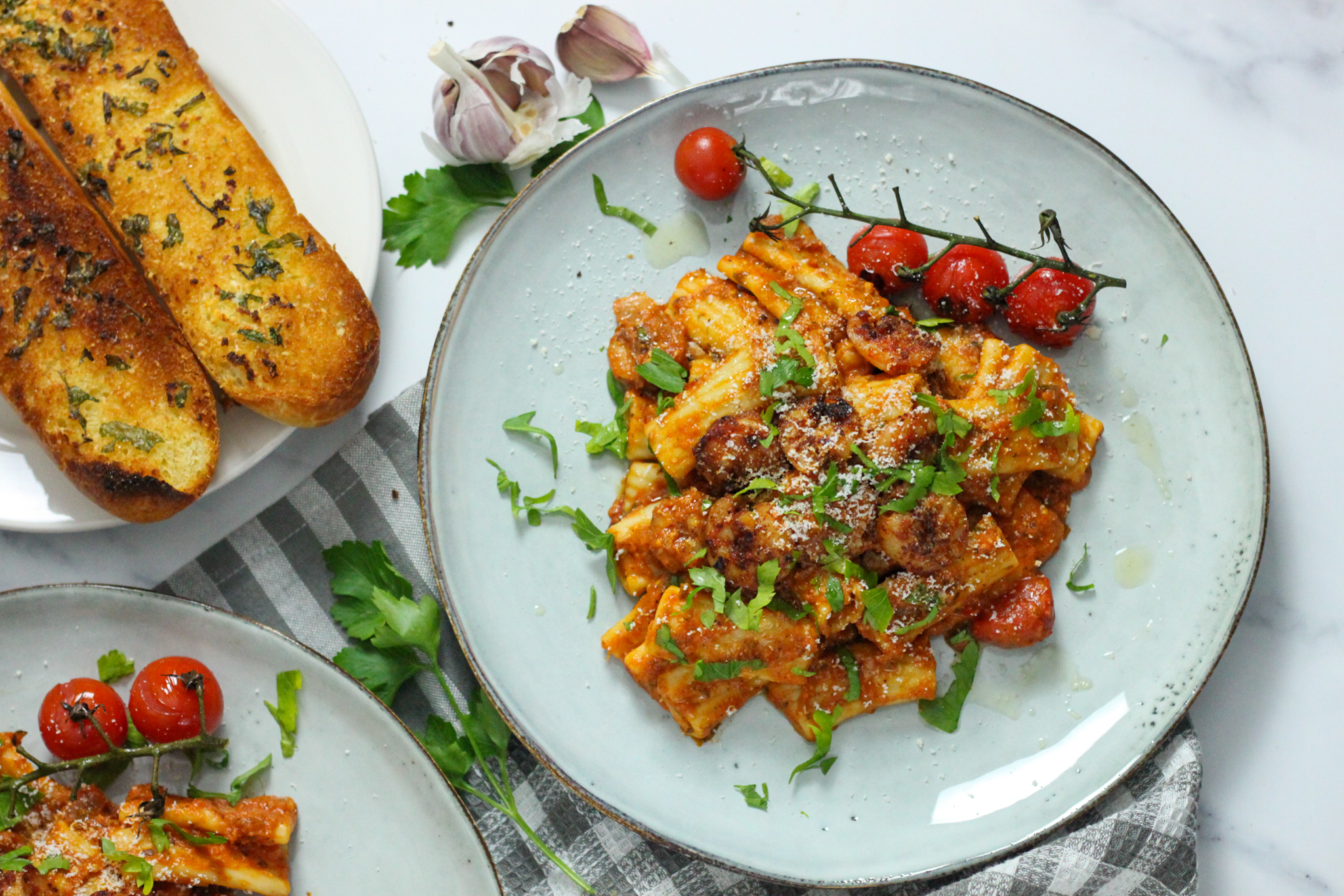 Warm up to this Awesome Spicy Shrimp Pasta