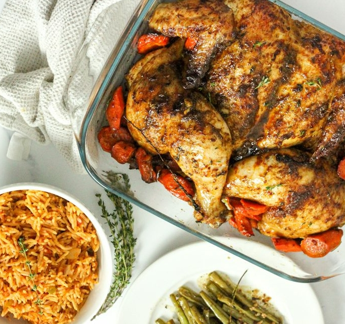 How to Spatchcock Like a Pro with Healthy Herb Roasted Chicken