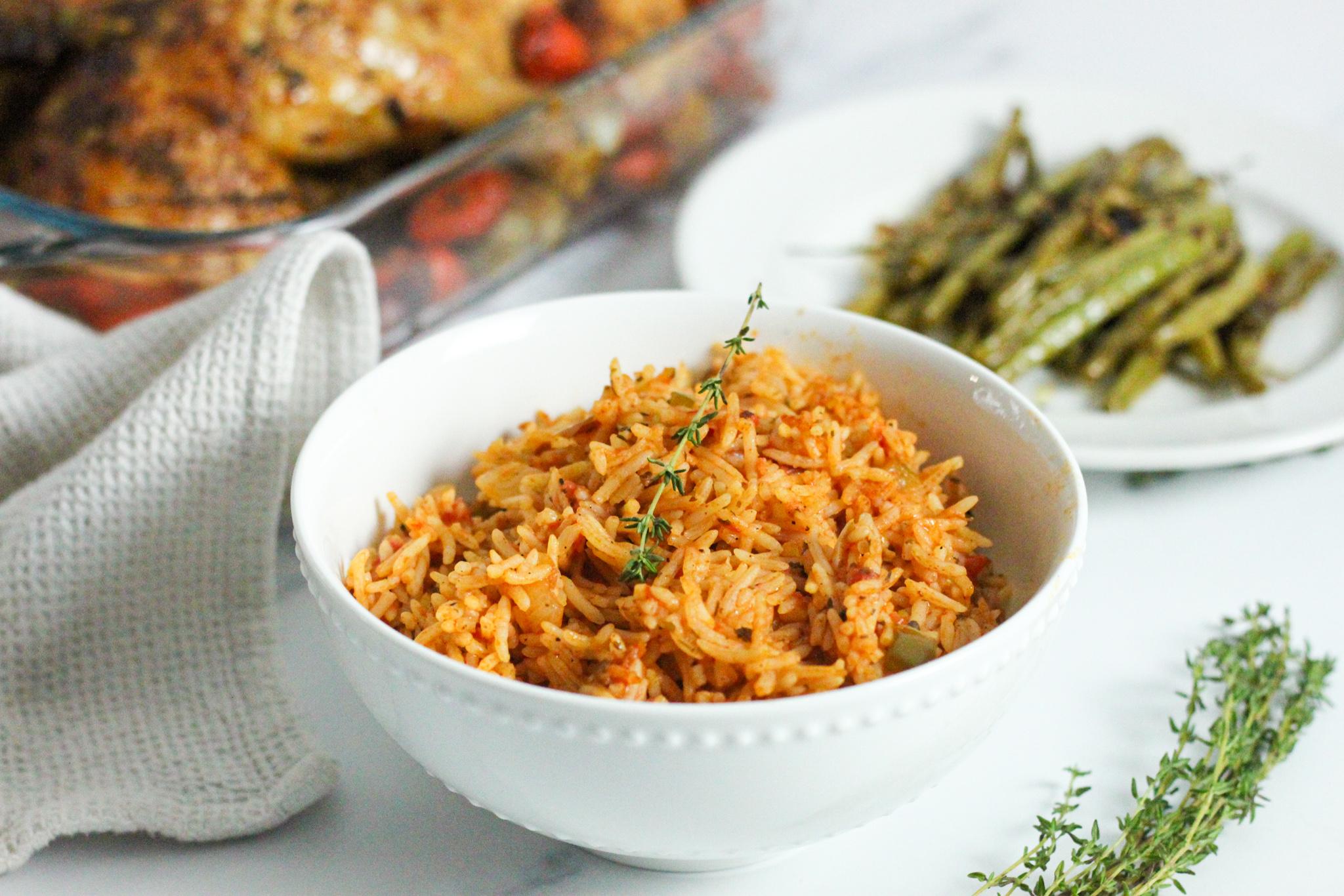 Deliciously Simple Bermuda Spanish Rice