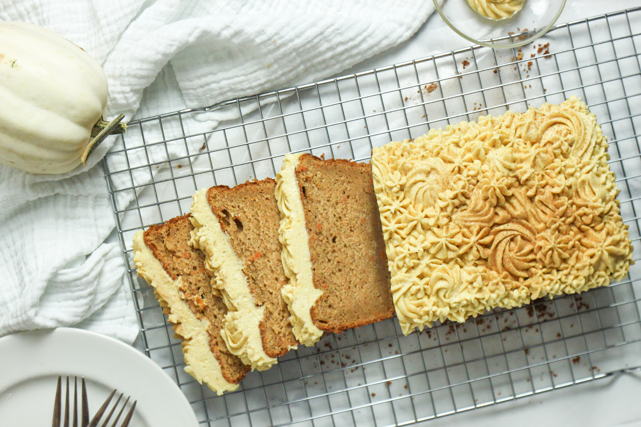 The Best of Both Worlds Sweet Potato Spice Cake