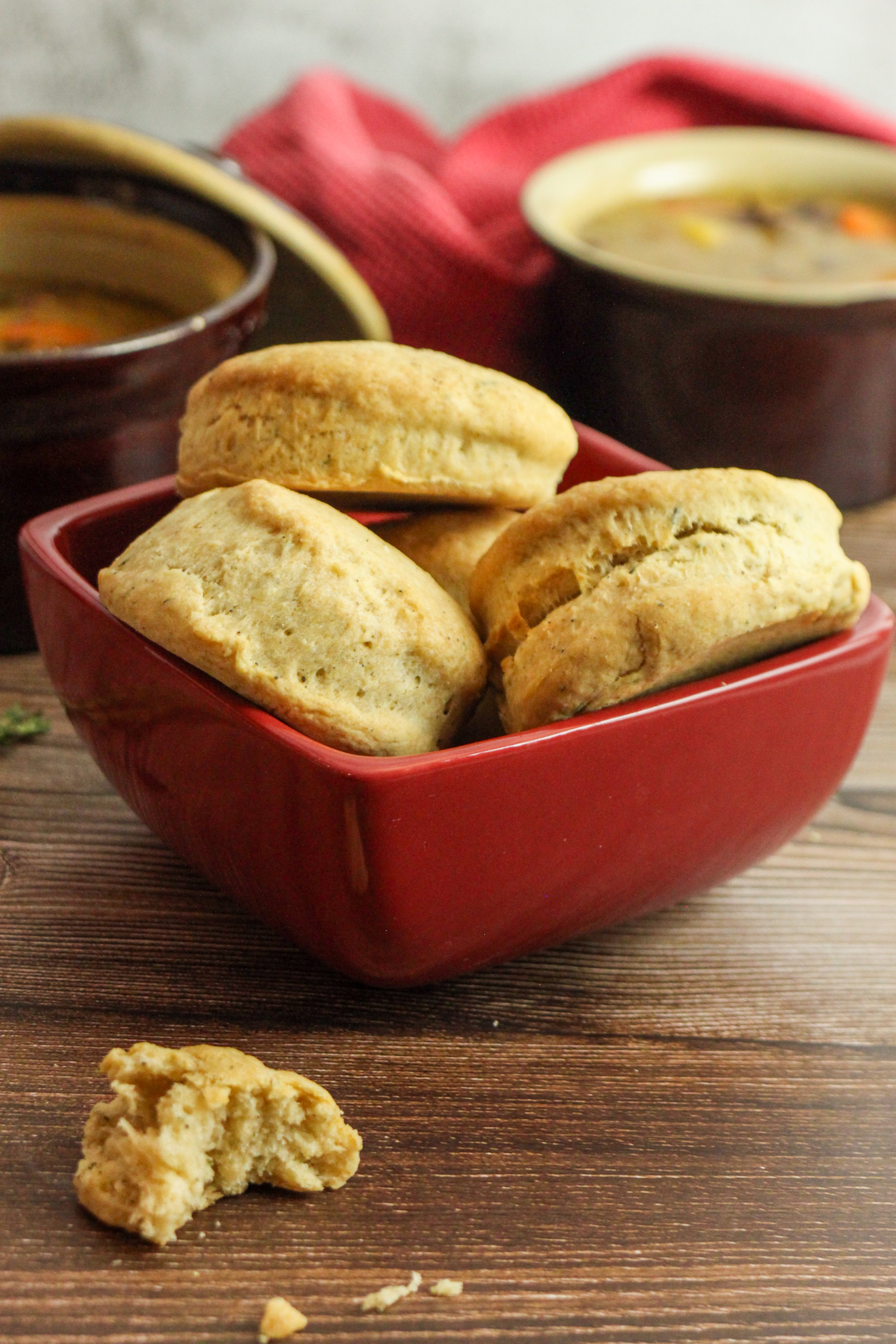 The Best Black Pepper and Thyme Biscuits