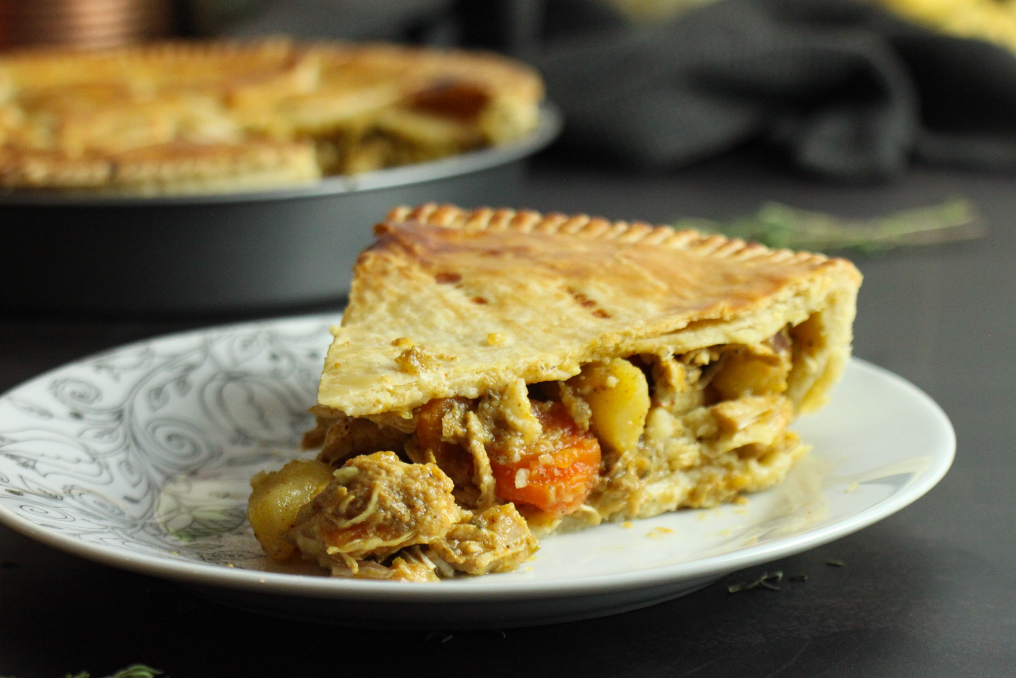 It's As Easy As Curry Chicken Pie