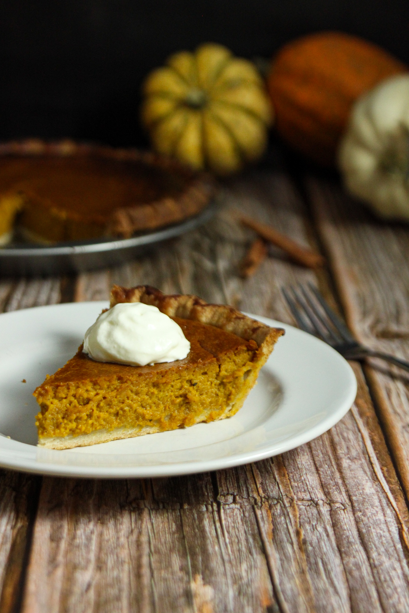 The BEST Homemade Pumpkin Pie