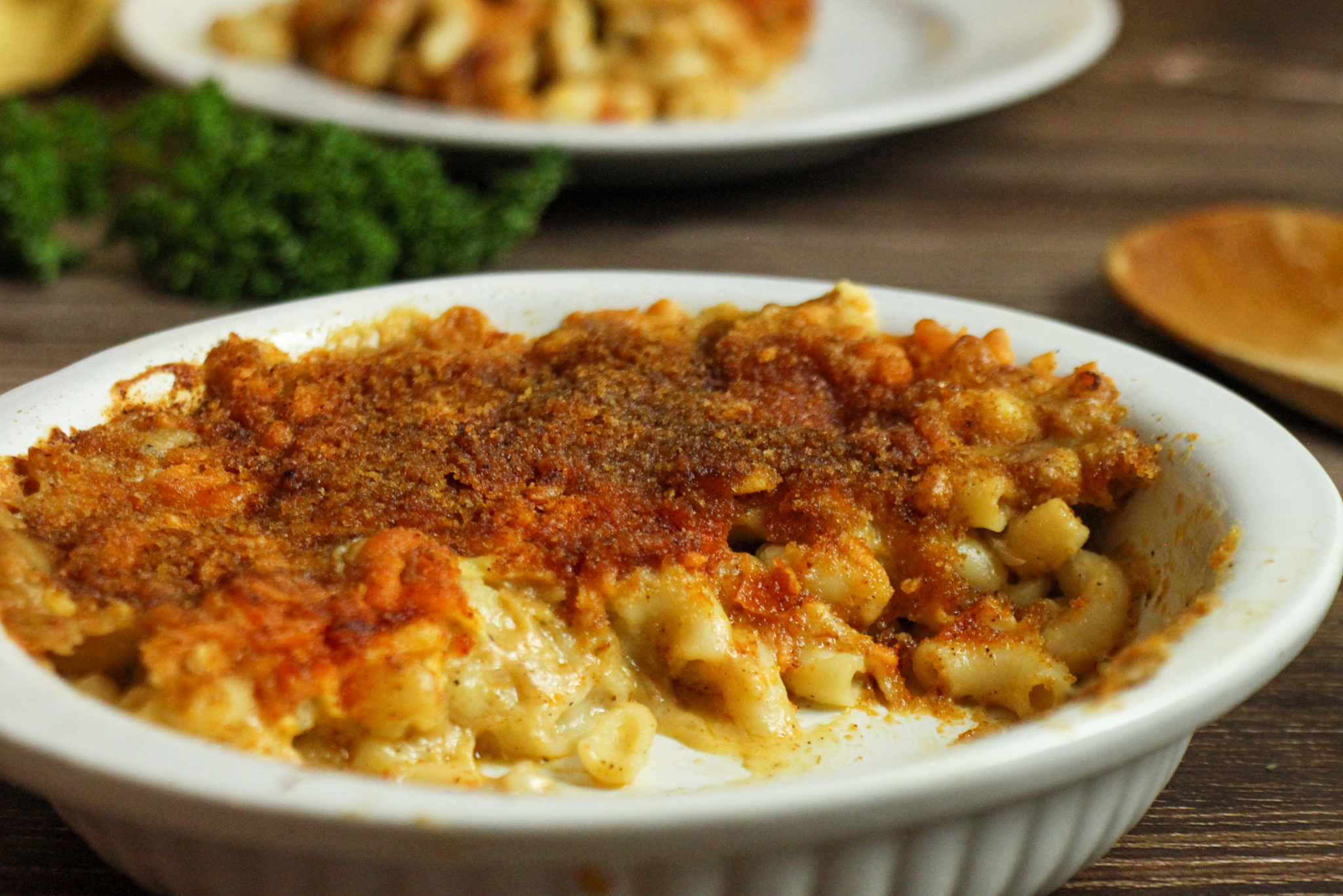 Easy Baked Vegan Mac and Cheese