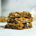 carrot and raisin oat bars