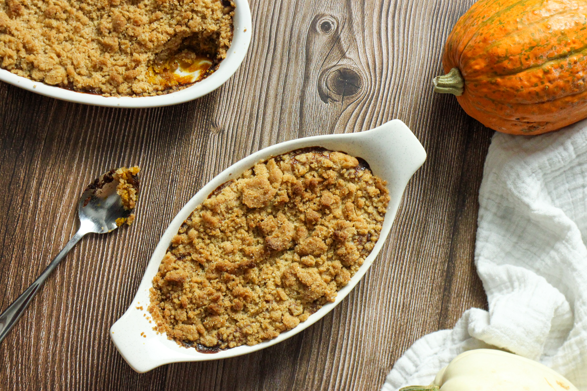 How to Make Pumpkin Pie Crisp