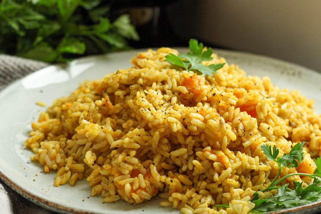 Curried Pumpkin Rice