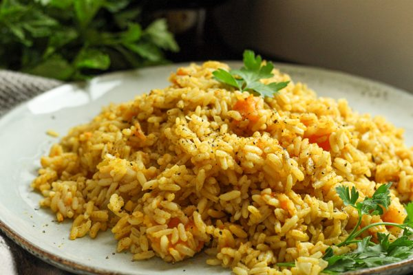 Curried Pumpkin Rice