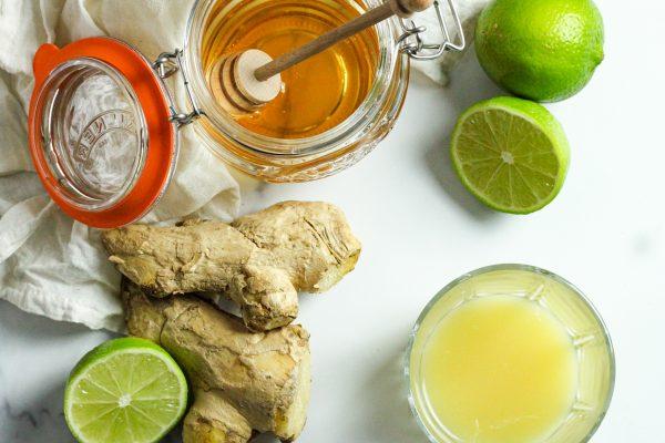 3 ingredient ginger shot
