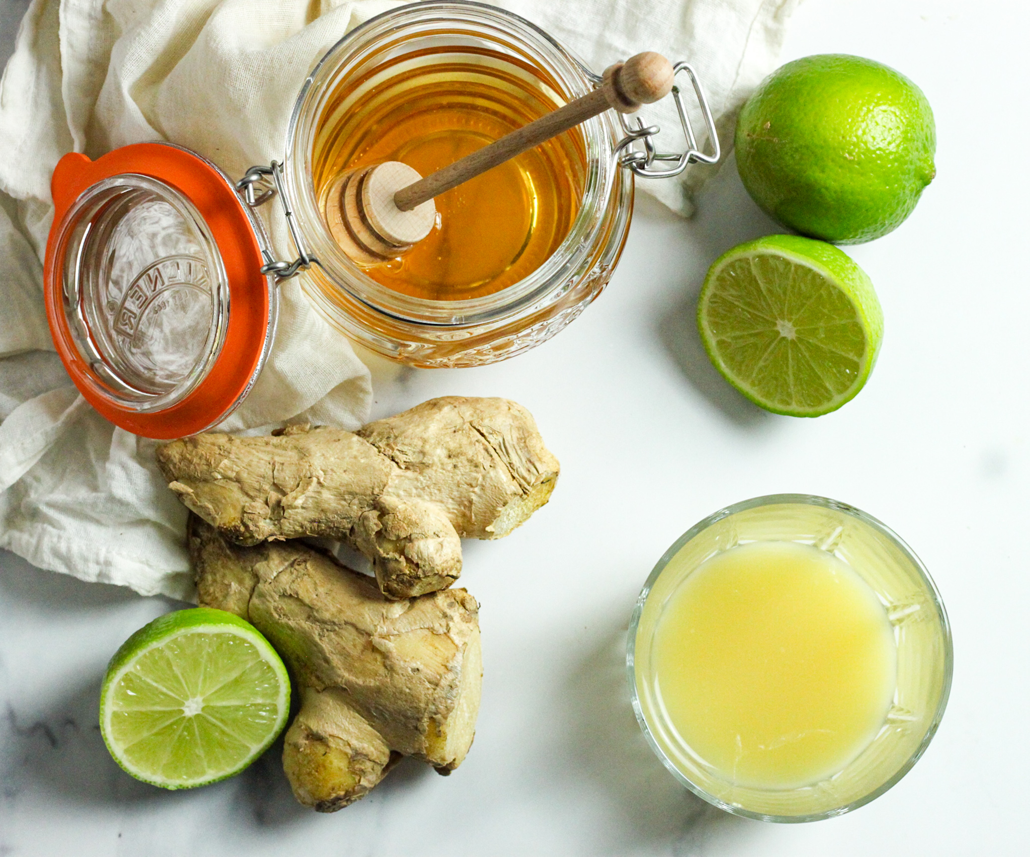 3 Ingredient Natural Remedy Ginger Shots