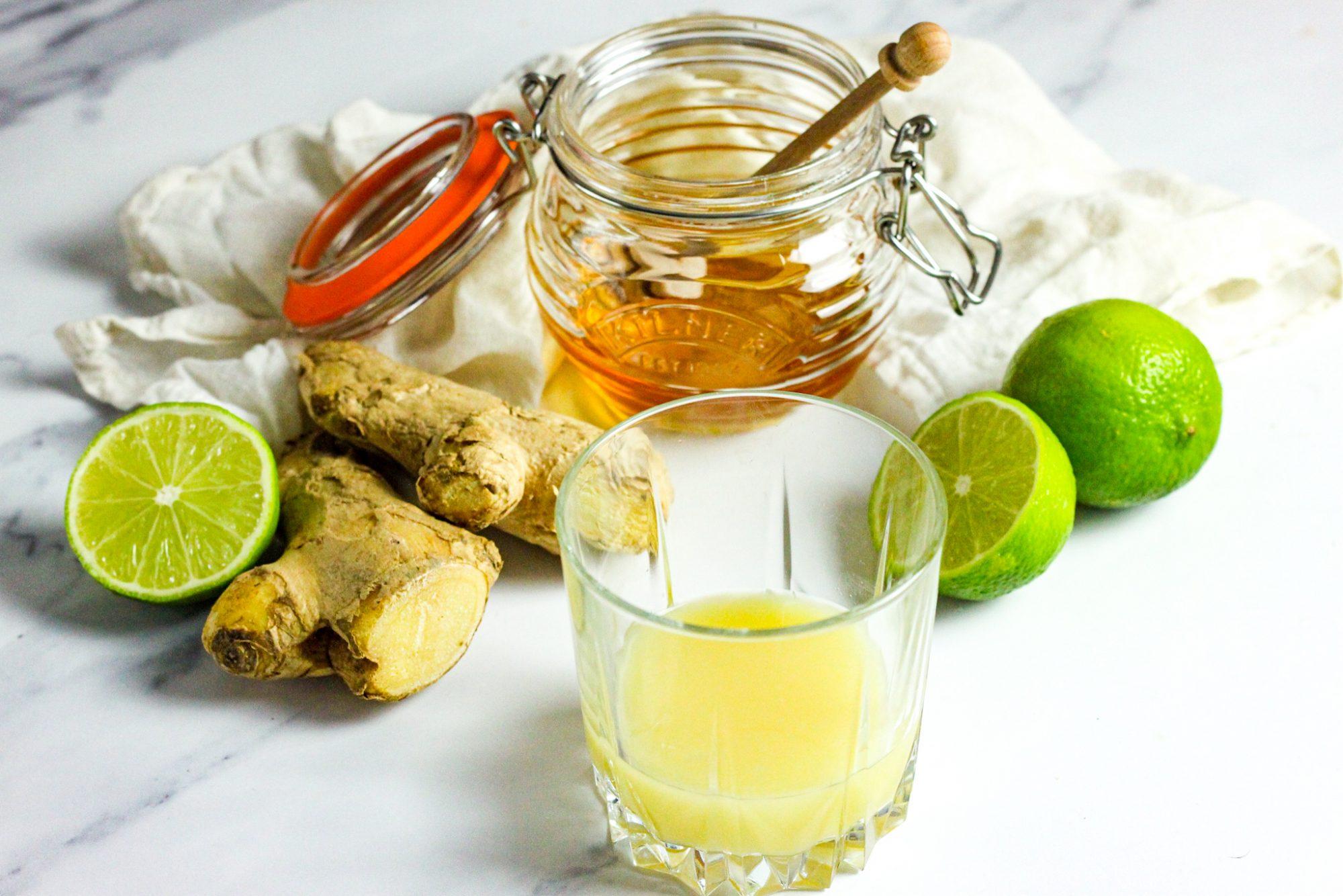 3 ingredient Ginger shots
