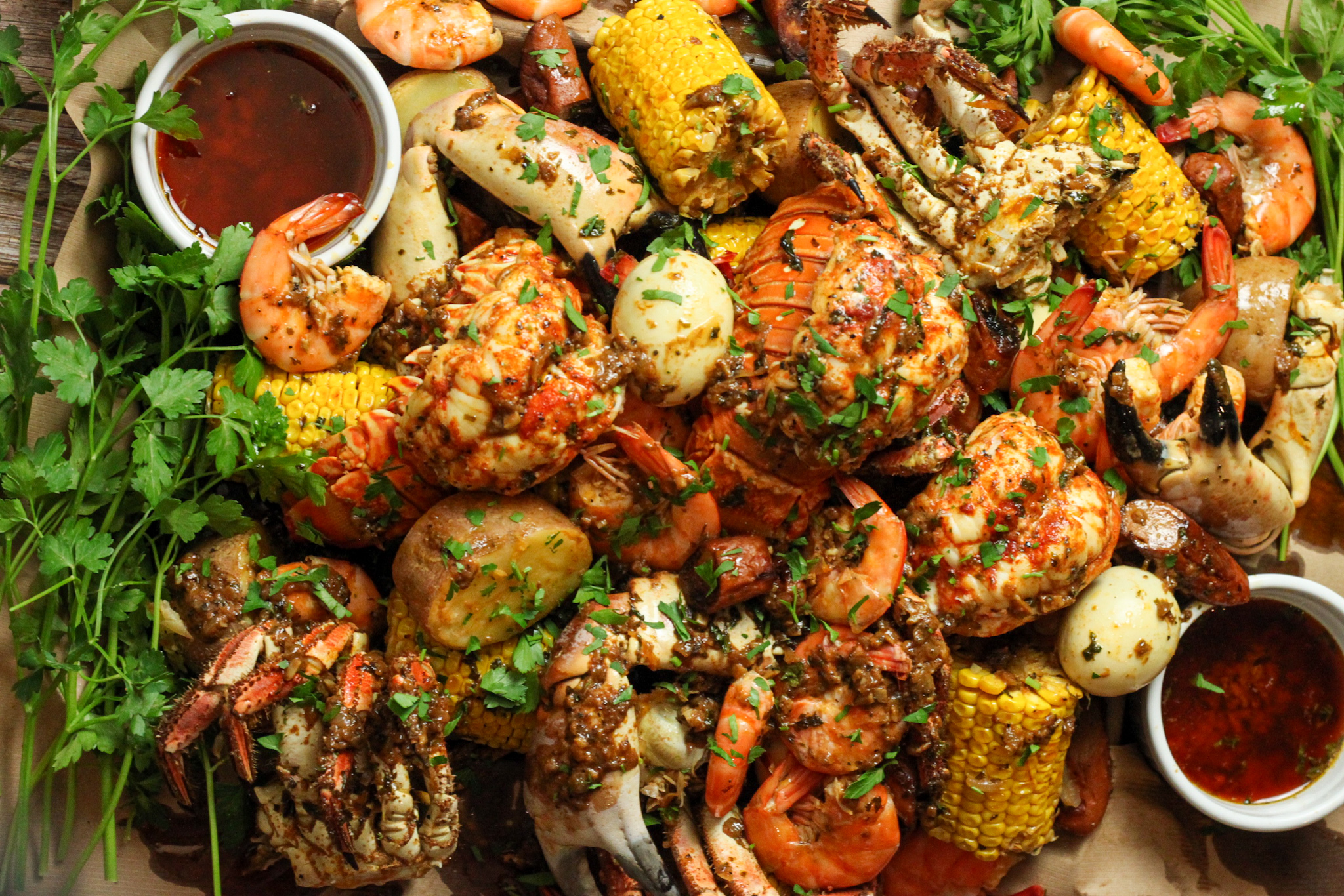 How to Cook A Family Style Seafood Boil