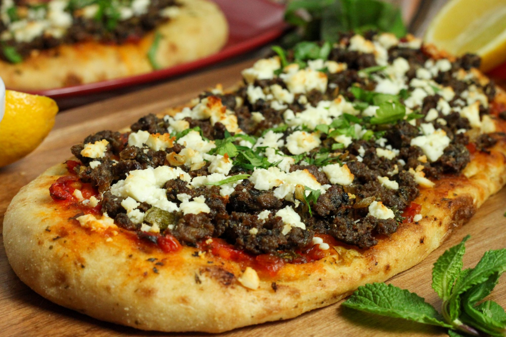 lahmacun turkish lamb pizza